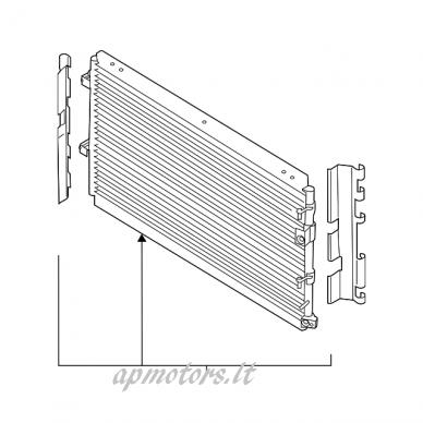 A/C radiatorius 2.3